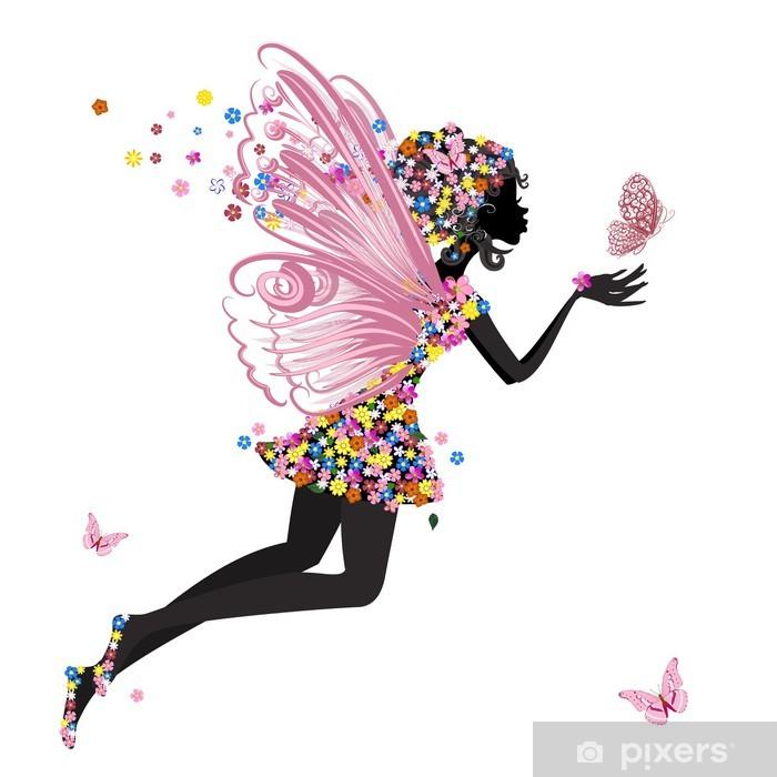 Plakat Flower Fairy z Motyl - Inne uczucia