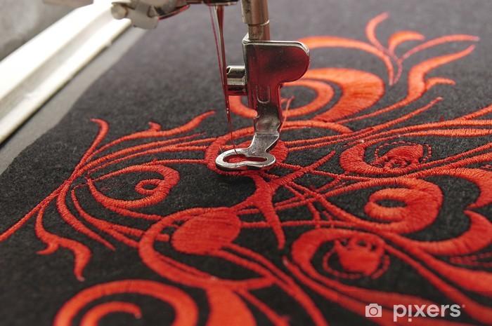 Onwijs Fotobehang Machinaal borduren • Pixers® - We leven om te veranderen DL-28