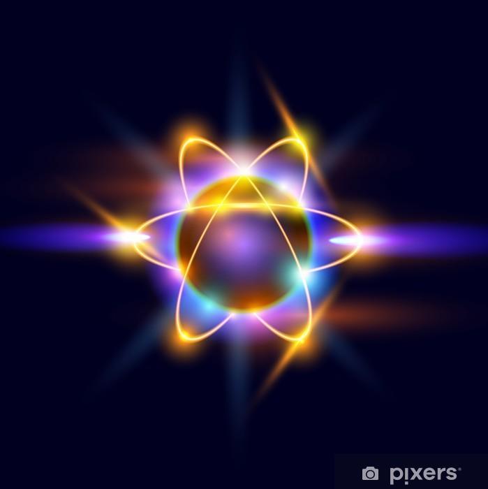 Poster Atome - Sciences fondamentales et appliquées