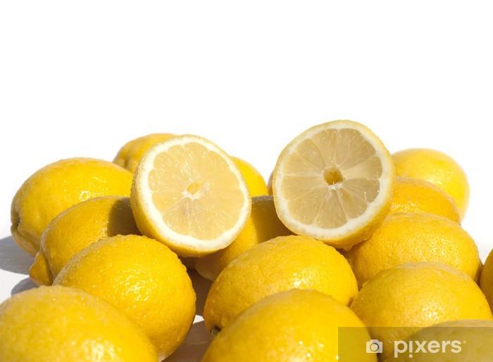 Fototapeta winylowa Lemon połowę - Przeznaczenia