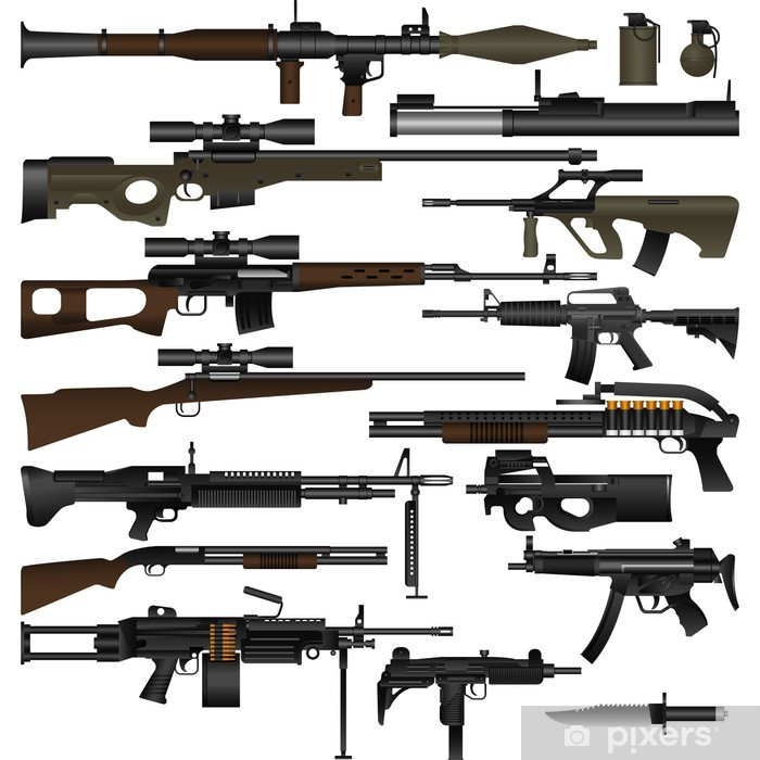 Weapon Washable Wall Mural - Life
