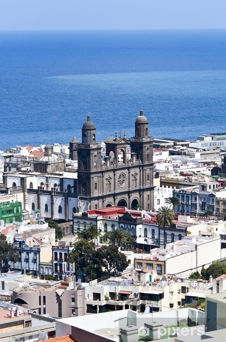 Vinyl-Fototapete Catedral, Las Palmas de Gran Canaria - Urlaub
