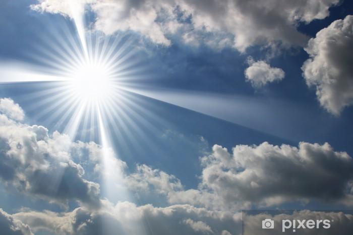Naklejka Pixerstick Niebo słońce - Niebo