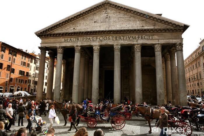 Adesivo Pixerstick Roma - Città europee