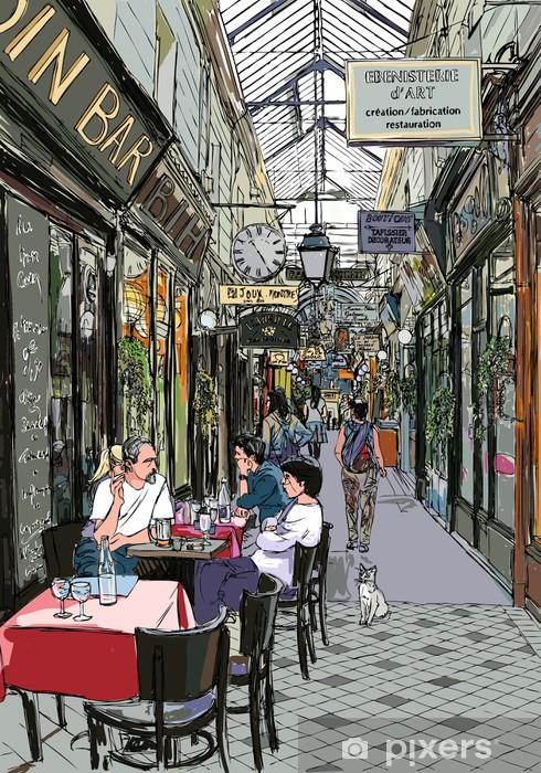 Naklejka Pixerstick Przejście w Paryżu - Tematy