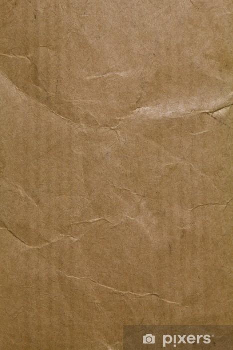 Papier peint vinyle Texture papier Kraft - Ecologie