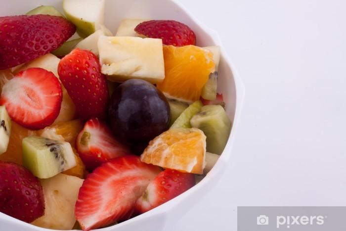Naklejka Pixerstick Sałatka owocowa - Owoce