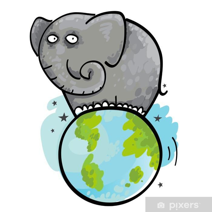 внешним плоская земля картинки со слонами любовь