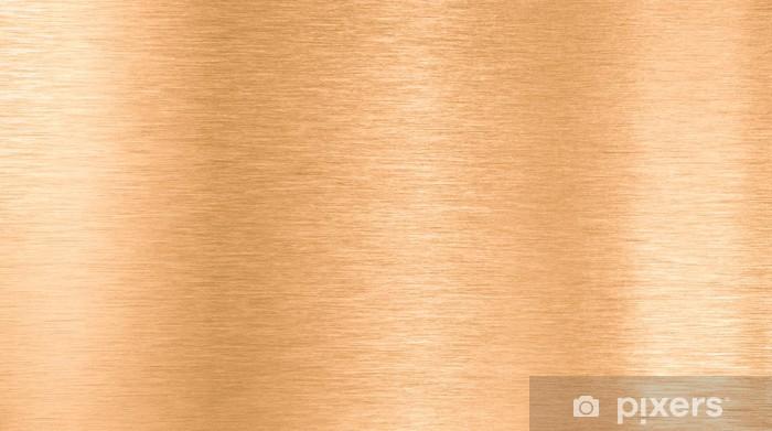 bronze or copper metal texture Vinyl Wall Mural - Styles