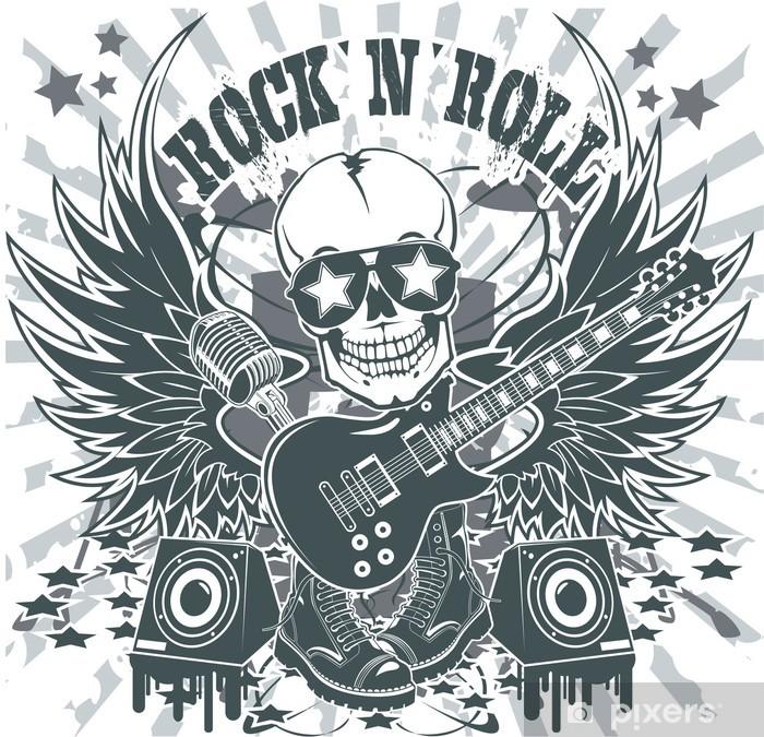 Fototapeta winylowa Rock n roll symbol - Rock