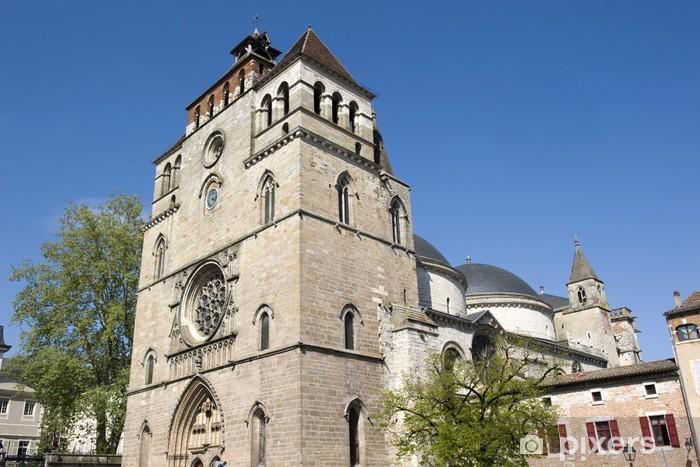 Nálepka Pixerstick Katedrála svatého Štěpána, Cahors - Prázdniny