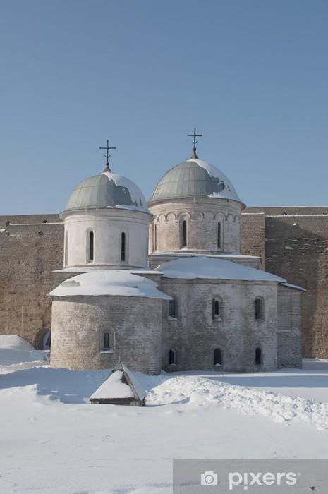 Sticker Pixerstick Eglise de l'Assomption à Ivangorod - Bâtiments publics