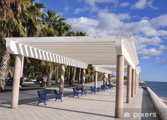 Papier peint vinyle Al mar de Pergola - Vacances
