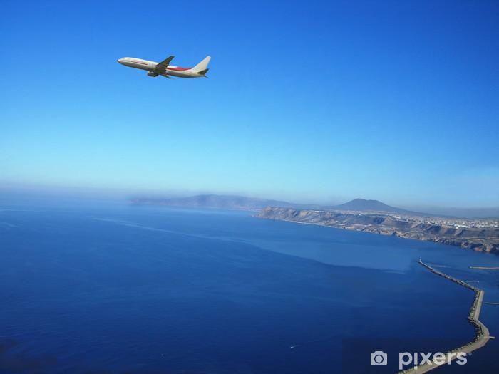 Papier peint vinyle Oran-algerie-avion Au dessus de la baie d'Oran - Afrique