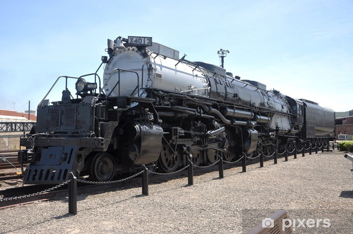 Sticker Pixerstick Locomotive à vapeur Union Pacific 4012 en Pennsylvanie, USA - Thèmes