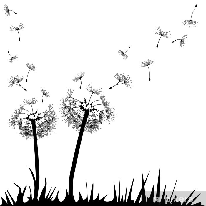 Pusteblume Framed Poster - Wall decals