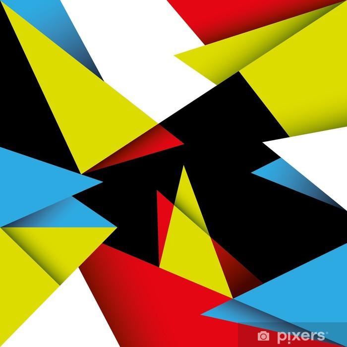 papier peint r sum de fond avec des formes g om triques color es pixers nous vivons pour. Black Bedroom Furniture Sets. Home Design Ideas