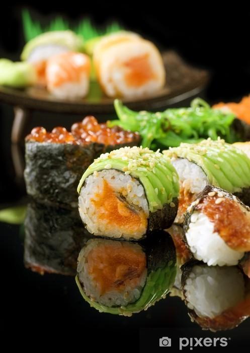 Carta da Parati in Vinile Sushi - Sushi