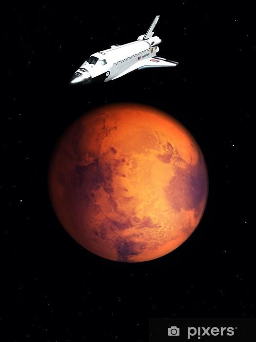 Fototapeta winylowa Transfer na niebie 67 - Planety