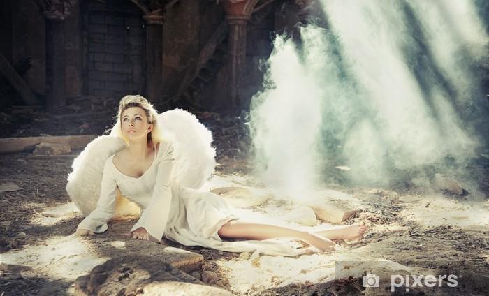 Naklejka Pixerstick Angel Beauty - Uroda i pielęgnacja ciała