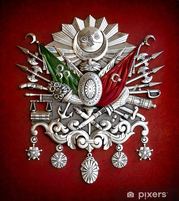 Fotobehang Embleem Van Ottomaanse Rijk Pixers 174 We