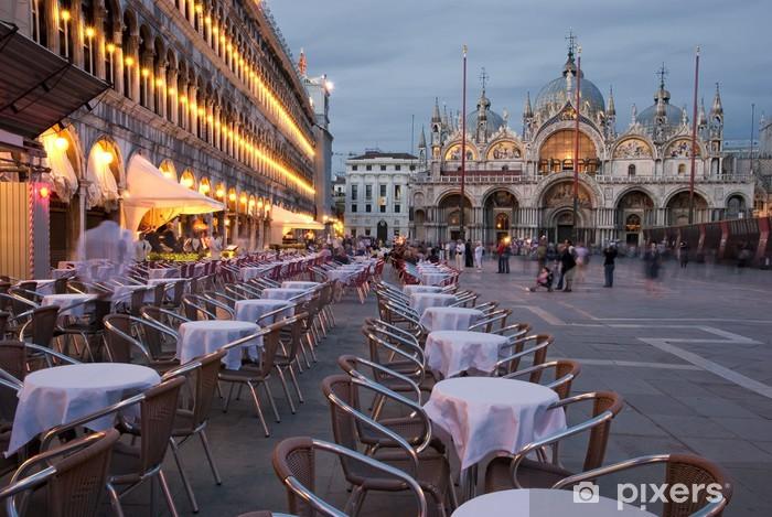 Vinilo Pixerstick VENECIA - San Marco cuadrado - Venecia
