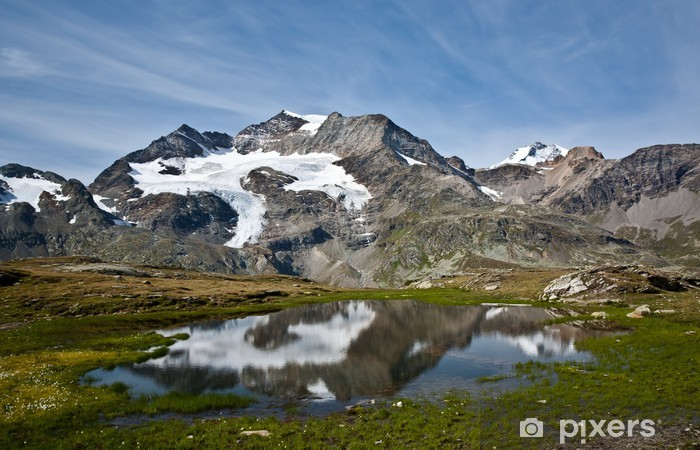 Naklejka Pixerstick ALP piękne - Góry