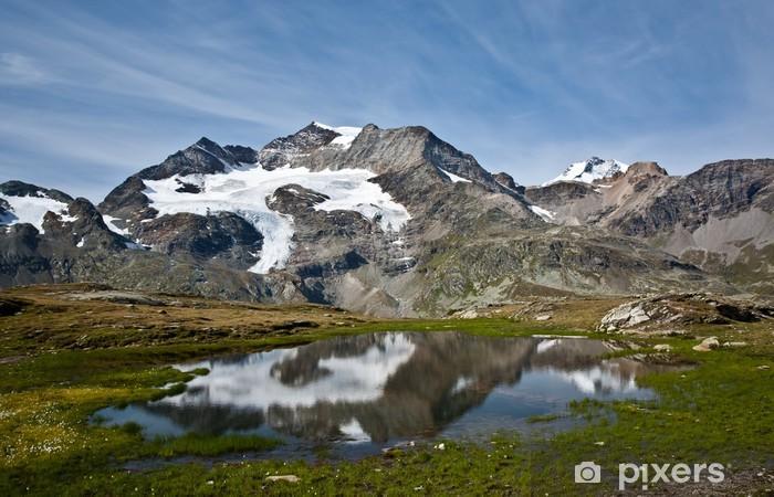 alp grum Pixerstick Sticker - Mountains