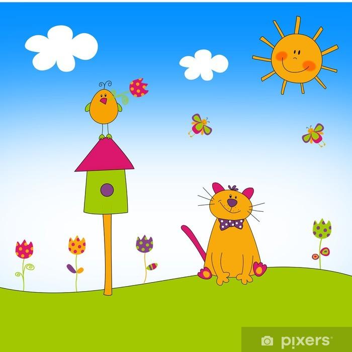 Plakat Ilustracja dla dzieci - Edukacja