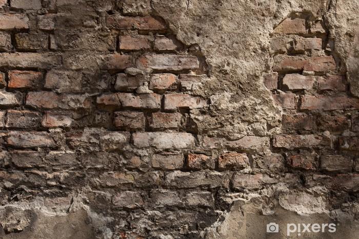 Fotomural Estándar Antigua muralla - fondo - ladrillo - Temas