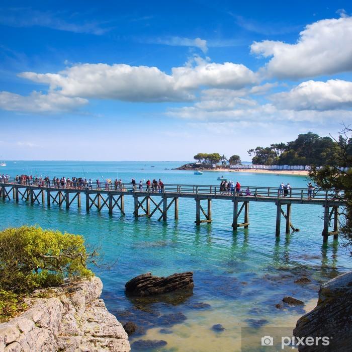 Vinyl Fotobehang Noirmoutier ponton - Vakantie