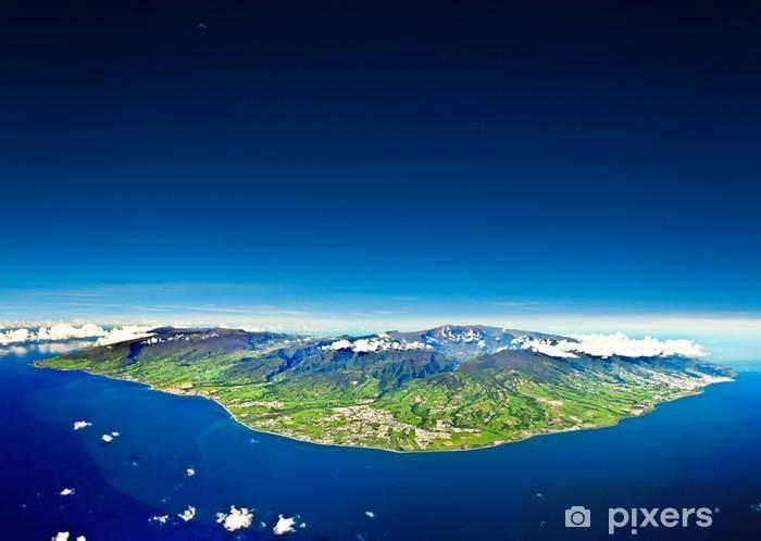 Papier Peint Autocollant Ile de la Réunion - iStaging