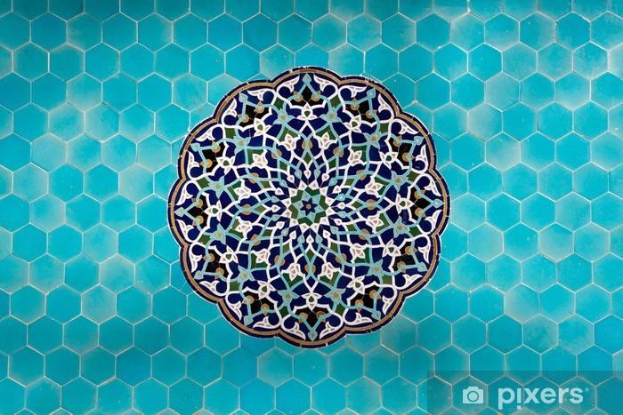 Papier peint vinyle Carreaux iraniens - Moyen Orient