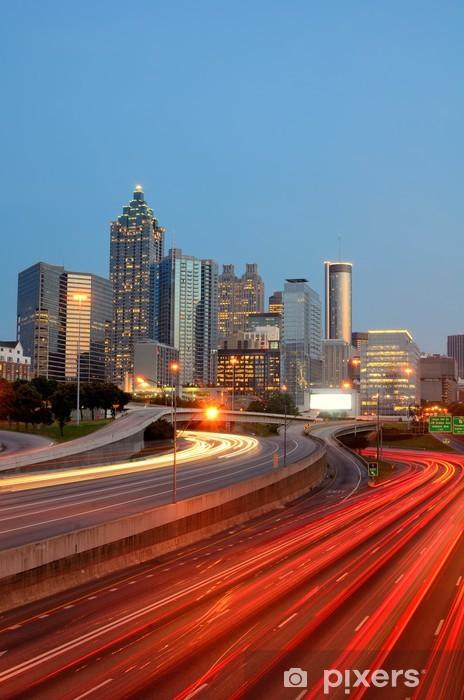 Fotomural Autoadhesivo Atlanta Skyline - América
