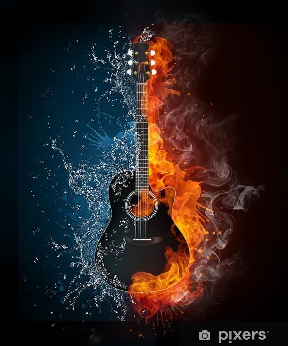 Pixerstick Sticker Electric guitar - jazz