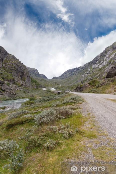 Nálepka Pixerstick Road v Norsku - Evropa