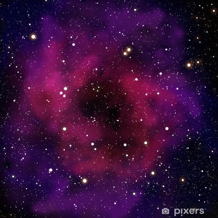 Fototapet av Vinyl Nebulosa och stjärna i rymdområdet - Universum