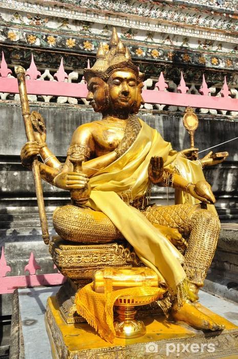 Vinyl-Fototapete Brahma in Wat Arun - Öffentliche Gebäude