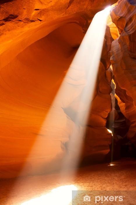 Pixerstick Dekor Sunbeam i övreantilopkanjonen, Arizona, USA - Amerika