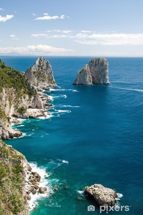 Capri, i faraglioni Pixerstick Sticker - Holidays