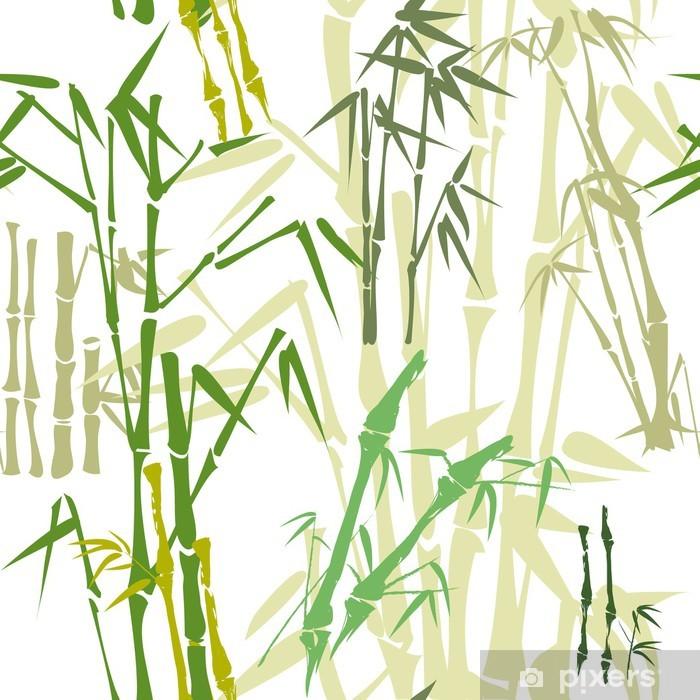 Plakat Wzór z bambusa - Tekstury