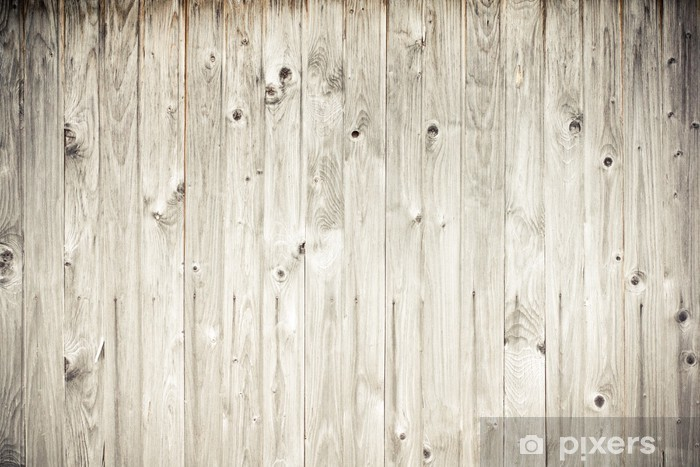weathered wood plank fence Vinyl Wall Mural - Styles
