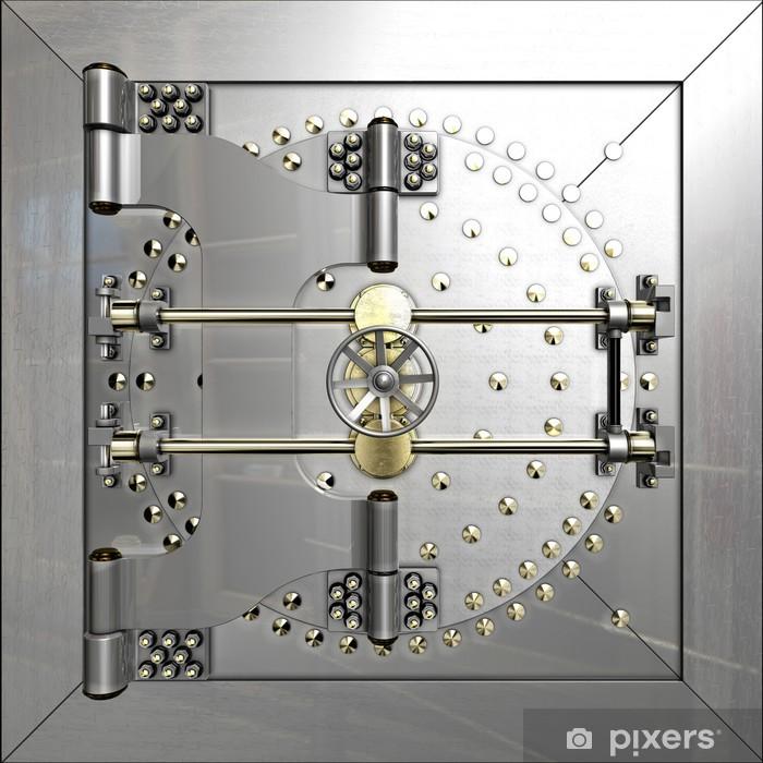 Fototapeta winylowa Bank Vault By - Finanse