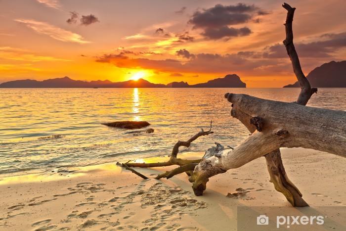 Auringonlasku Vinyyli valokuvatapetti -