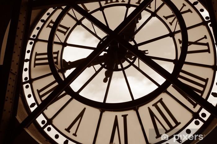 Fototapeta winylowa Zegar w Muzeum orsay. Paryż, Francja - Zegary