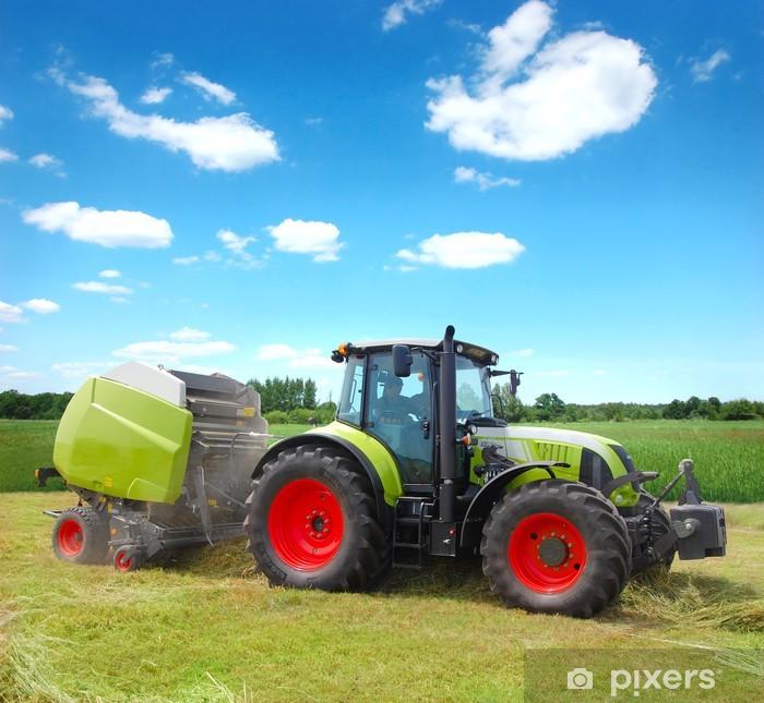traktor Self-Adhesive Wall Mural - Themes