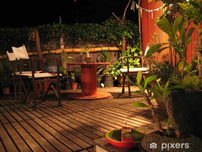 Aufkleber Zen Terrasse und natürliches Licht - Pixerstick