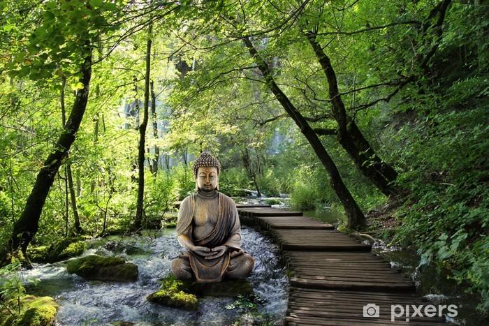 Fototapeta winylowa Budda i spokój - Tematy