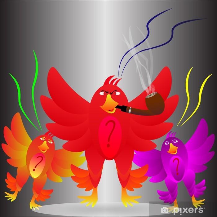Papier peint vinyle Angry Birds - Arrière plans