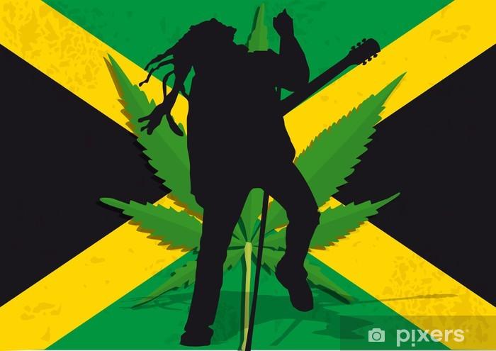 Fototapeta winylowa Rasta Jamaïque - Tematy